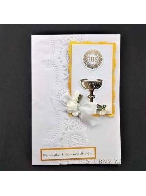 KARTKA OKOLICZNOŚCIOWA Pamiątka Pierwszej Komunni Świętej 000089-6