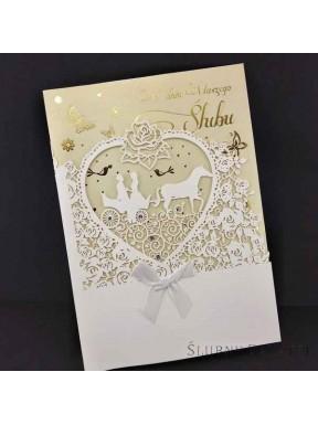 KARTKA OKOLICZNOŚCIOWA W Dniu Ślubu 00015-2