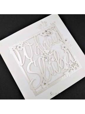 KARTKA OKOLICZNOŚCIOWA W Dniu Ślubu 00015-7