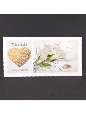 KARTKA OKOLICZNOŚCIOWA W Dniu Ślubu 000119-2