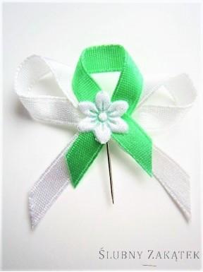 Kotyliony biało - zielone 100 szt