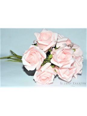 RÓŻYCZKI DO DEKORACJI różowe