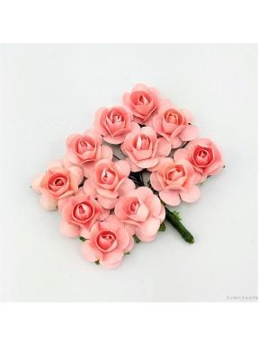 RÓŻYCZKI DO DEKORACJI j. róż, 12 szt.