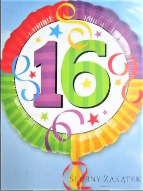 Balon urodzinowy 16