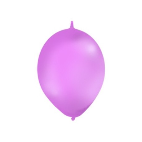 BALONY DO GIRLAND fioletowe pastel, 100 szt